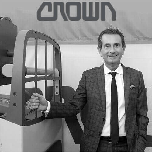 Roberto De Gasperin, General Manager Di Crown Lift Trucks S.R.L.