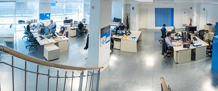 Tecnest, gli uffici di Udine